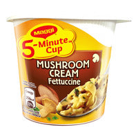 Maggi 5-Minute Instant Cup Pasta - Mushroom Crea... | Instant Cups | Office Pantry Supplies