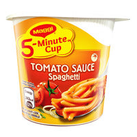 Maggi 5-Minute Instant Cup Pasta - Tomato Spaghe... | Instant Cups | Office Pantry Supplies