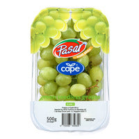 Pasar South Africa Cape Green Seedless Grapes 500G | Kiwi and Grapes | Office Pantry Supplies