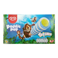 Wall's Paddle Pop Ice Cream - Twister 4 x 53G | Ice Cream | Office Pantry Supplies