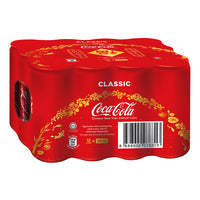 Coca-Cola Can Drink - Classic 12 x 320ML (CTN) | Carbonated | Office Pantry Supplies