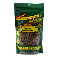 Golden Horn Mulberries - Organic 120G | Berries and Cherries | Office Pantry Supplies