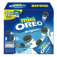 Mini Oreo Cookies - Original 10 x 23G | Biscuits and Crackers | Office Pantry Supplies