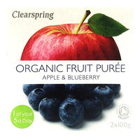 Clearspring Organic Fruit Puree - Apple & Bluebe... | Cordials and Juices | Office Pantry Supplies