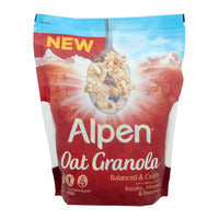 Alpen Oat Granola - Raisins, Almonds and Hazelnu... | Granola, Muesli and Others | Office Pantry Supplies