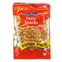 FairPrice Party Snacks - Roasted Almonds (Unsalt... | Beans Seeds Nuts | Office Pantry Supplies
