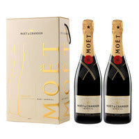 Moet & Chandon Champagne - Brut 2 x 750ML | Wine | Office Pantry Supplies