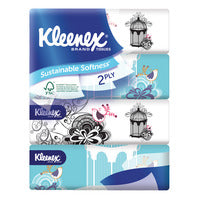 Kleenex Facial Tissue Soft Pack (2ply) - 4 per pack | Paper Products | Office Pantry Supplies