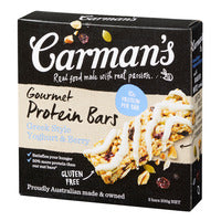 Carman's Gourmet Protein Bars - Greek Style Yogh... | Cereal Bars | Office Pantry Supplies