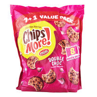 Chipsmore Cookies Mini - Double Chocolate 8 x 32G | Biscuits and Crackers | Office Pantry Supplies
