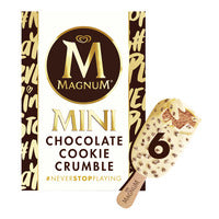 Magnum Mini Ice Cream - Chocolate Cookie Crumble... | Ice Cream | Office Pantry Supplies