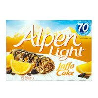 Alpen Light Cereal Bars - Jaffa Cake  5 x 19G | Cereal Bars | Office Pantry Supplies