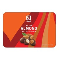 Aalst Milk Chocolate Tin - Whole Almond 150G | Chocolate | Office Pantry Supplies