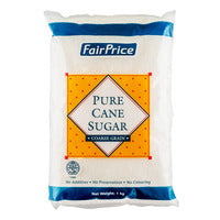 FairPrice Pure Cane Sugar - Coarse Grain 1KG |  | Office Pantry Supplies