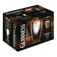 Guinness Can Beer - Draught + Free Glass Ware 5 ... | Beer | Office Pantry Supplies