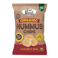 Eat Real Organic Snack - Hummus Chips (Sea Salt)... | Chips and Crisps | Office Pantry Supplies