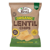 Eat Real Organic Snack - Lentil Chips (Sea Salt)... | Chips and Crisps | Office Pantry Supplies