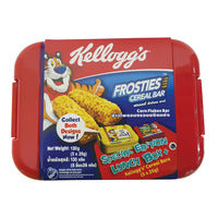 Kellogg's Cereal Bar - Frosties + Special Edition Lunch Box 5 x 26G | Cereal Bars | Office Pantry Supplies