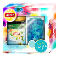 Lipton Pyramid Tea Christmas Festive Gift Pack w... | Flavoured Tea | Office Pantry Supplies