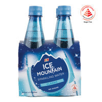 F&N Ice Mountain Sparkling Bottle Water - Classi... | Water | Office Pantry Supplies