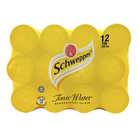 Schweppes Can Tonic Water 12S X 320ML 12 x 320ML... | Carbonated | Office Pantry Supplies