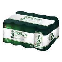 Carlsberg Can Beer - Smooth Draught  12 x 320ML | Beer | Office Pantry Supplies