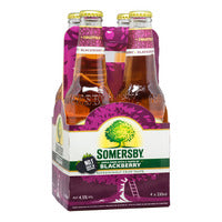 Somersby Bottle Cider - Apple with Blackberry 4 x 330ML | Beer | Office Pantry Supplies