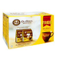 Old Town 3 in 1 Instant White Coffee - Classic +... - 30 x 40g | Instant Coffee | Office Pantry Supplies