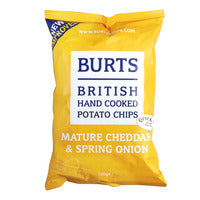 Burts Potato Chips - Mature Cheddar & Spring Oni... | Chips and Crisps | Office Pantry Supplies