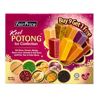 FairPrice Kool Potong Ice Cream - Festive Pack 10 x 65G | Ice Cream | Office Pantry Supplies