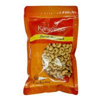 Kangaroo Cashew Nuts - Salted 550G | Beans Seeds Nuts | Office Pantry Supplies