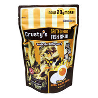 Crusty's Salted Egg Fish Skin 100G | Other Snacks | Office Pantry Supplies