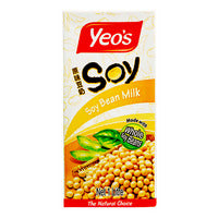 Yeo's Packet Drink - Soya Bean 1L | Organic Soy | Office Pantry Supplies