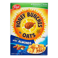 Post Honey Bunches Of Oats Cereal with Crispy Almonds 411G | Granola | Office Pantry Supplies
