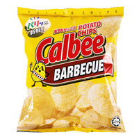 Calbee Potato Chips - BBQ 80G | Chips and Crisps | Office Pantry Supplies