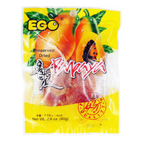 Ego Preserved Dried Papaya 80G | Dried Fruits | Office Pantry Supplies