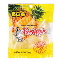 Ego Preserved Dried Pineapple 80G | Dried Fruits | Office Pantry Supplies