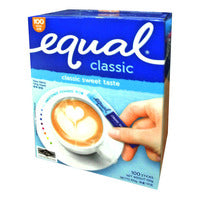 Equal Sweetener Sachets - Classic 100 x 1G |  | Office Pantry Supplies