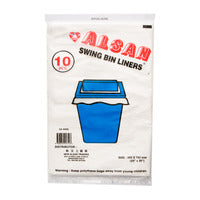 Alsan Swing Bin Liners 10S | Disposables | Office Pantry Supplies