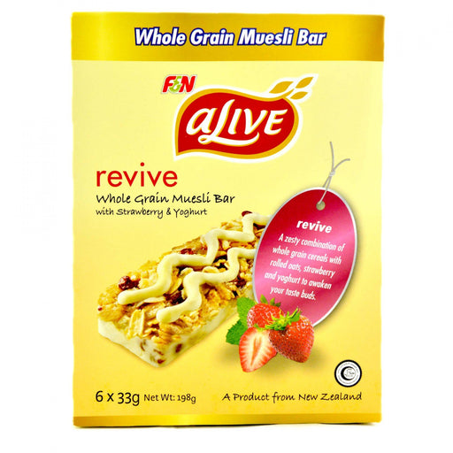 a Alive Strawberry Yoghurt Bar 10 x 6'S x 33 g for 48.73