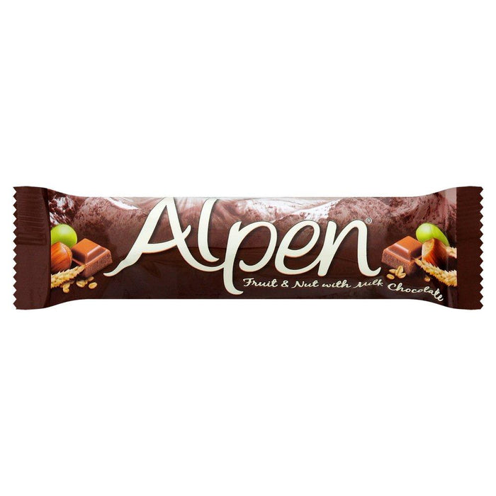a Alpen Bar Fruit & Nut W/Chocolate 10 x 5 x 29 g for 66.67