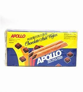 a Apollo Wafer - Chocolate 20 x 48 x 12 g for 64