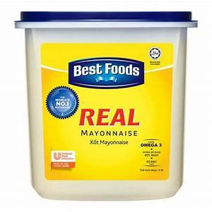 a Best Real Mayonnaise 4 x 3LTR for 75.6