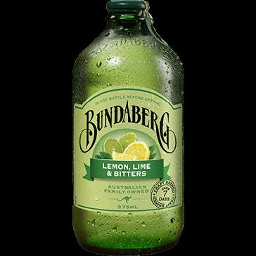 a Bundaberg Lemon Lime&Bitters 6 x 4 x 375ML for 33.07