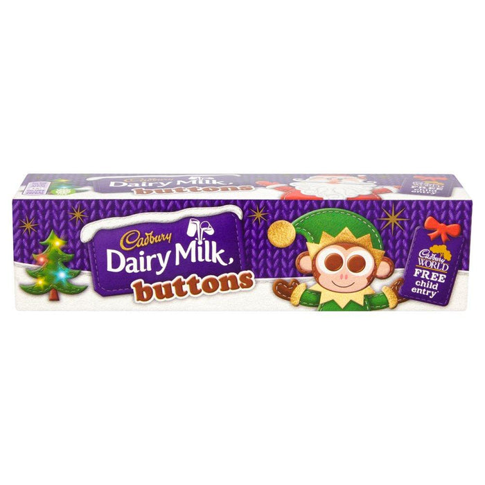 a Cadbury Buttons Tube Xmas 12 x 72 g for 39.31