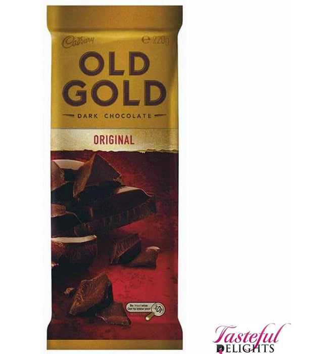 a Cadbury Old Gold Premium Dark 14 x 220 g for 88.11