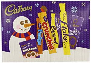 a Cadbury Sel Box Snowman 8 x 168 g for 43.78