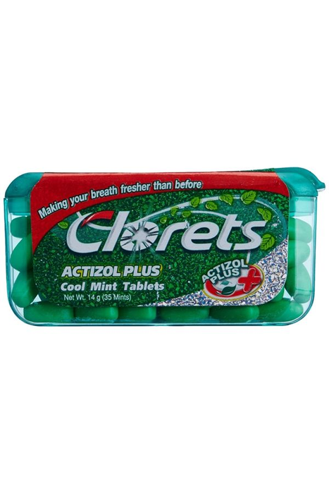 a Clorets Mini - Cool Mint 12 x 14 g for 11.6