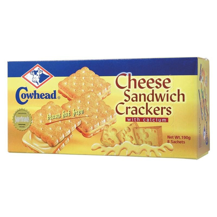 a Cowhead Cheese Sandwich 24 x 190 g (8'S) for 48