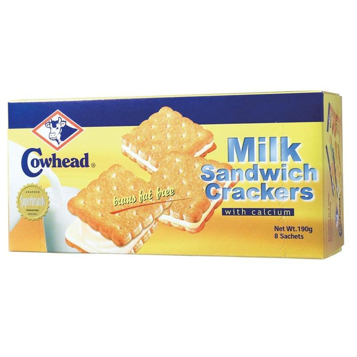 a Cowhead Milk Sandwich 24 x 190 g (8'S) for 48